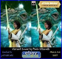 Star Wars The High Republic #3, CBE Exclusive Paolo Villanelli Shipped Order