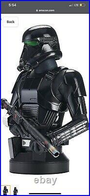 Star Wars The Mandalorian Death Trooper 16 Scale Resin Bust Pre Order
