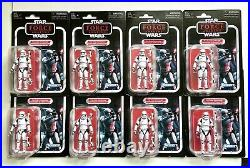 Star Wars The Vintage Collection Lot of 8 First Order Stormtrooper Figures VC118