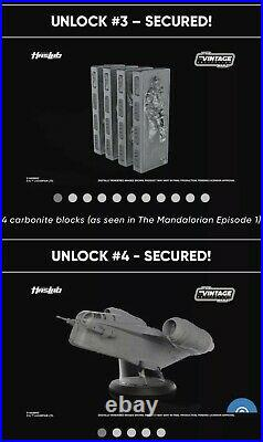 Star Wars Vintage Collection Mandalorian Razor Crest HASLAB PRE-ORDER With Tiers