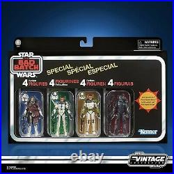 Star Wars Vintage Collection The Bad Batch Special 4-Pack Confirmed Pre Order