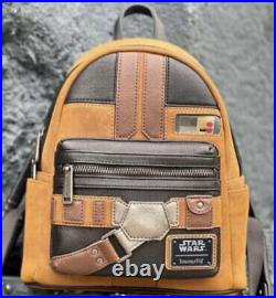 Star Wars x Loungefly Han Solo Cosplay Mini-Backpack Confirmed July Pre-Order