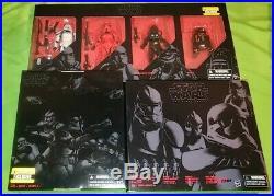 Star wars black series lot order 66 clone trooper entertainment earth exclusive
