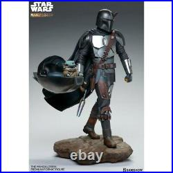 The Mandalorian And The Child Premium Format Figure Sideshow Uk Pre Order