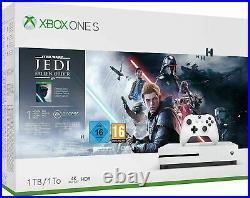 Xbox One S 1TB Console Star Wars Jedi Fallen Order Bundle Deluxe Edition