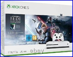 Xbox One S 1TB Console Star Wars Jedi Fallen Order Bundle (Deluxe Edition)