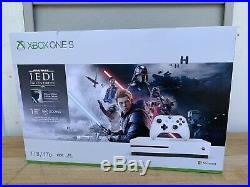 Xbox One S 1TB Console Star Wars Jedi Fallen Order Bundle With extra controller