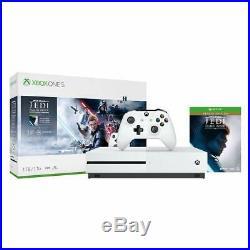 Xbox One S White Star Wars Jedi Fallen Order Bundle 1TB Console