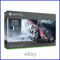 Xbox One X 1TB Console Star Wars Jedi Fallen Order Bundle
